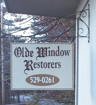 Olde Window Restorers repairs and restores old wood windows in Southern New Hampshire
